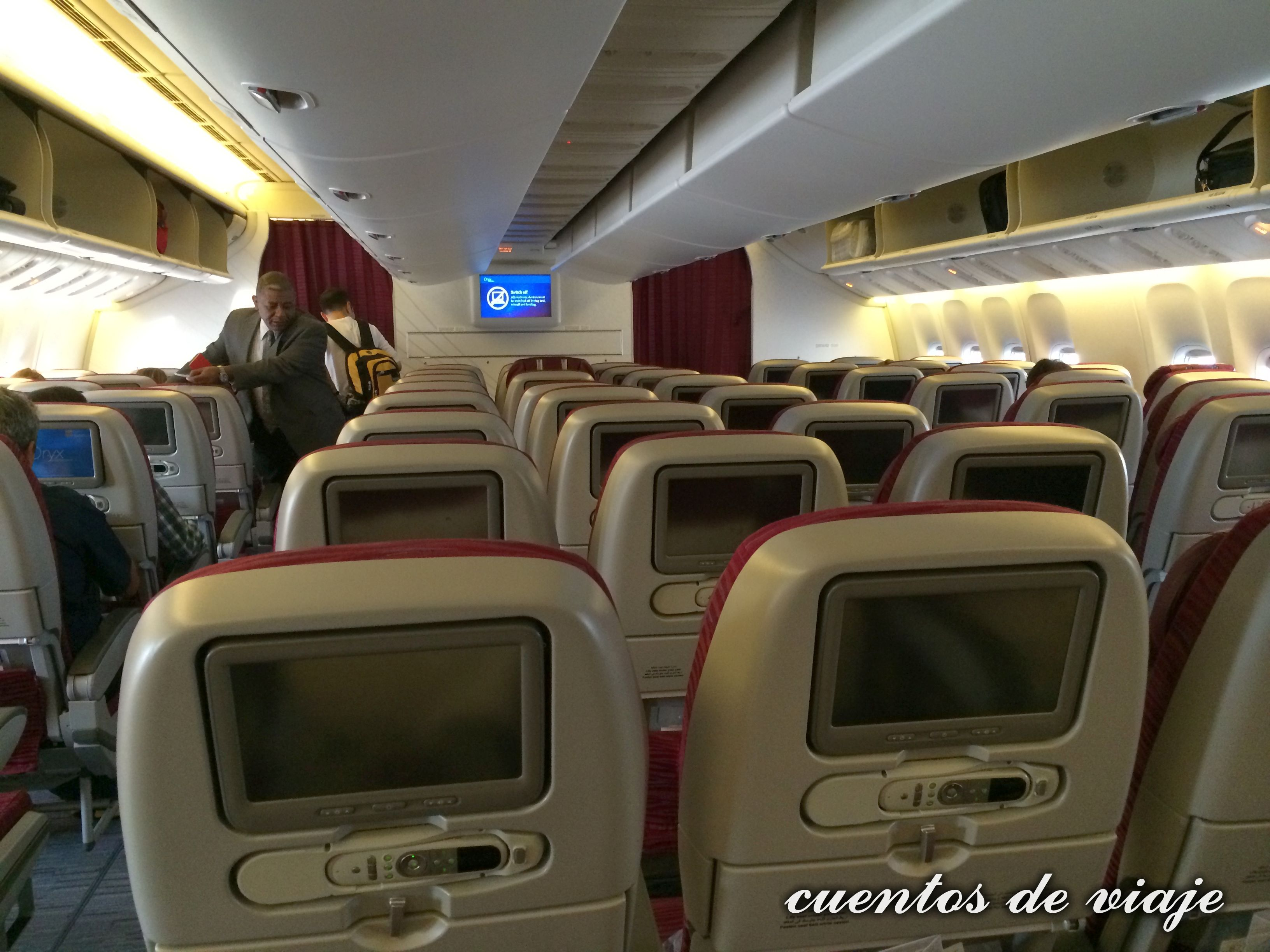 ver avion por dentro: